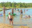 Mange kunne vel tenkt seg en siesta ved vannet i sommervarmen?
