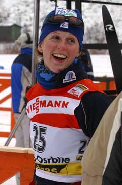 Sandrine Bailly vant med nesten et halvminutt. (Foto: AFP/Scanpix)
