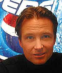Det gjør også Runar Pahr Andresen i Pepsi Co Nordic. Foto: Arne Kristian Gansmo, NRK.no.