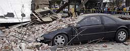 Jordskjelv i California (Foto: Michael Mariant/ AP/ Scanpix)