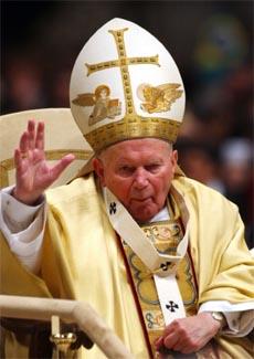 Tilstanden er uklar for pave Johannes Paul II. (Arkivfoto: AP/Scanpix)