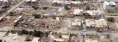 Jordskjelvet la oldtidsbyen Bam i det sørlige Iran i ruiner og minst 25.000 skal være omkommet.