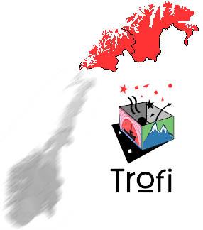 Den nye logoen til Trofi AS, tidligere Troms og Finnmark