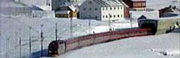 Bergensbanen ved Finse.
