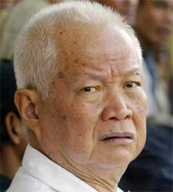 Khieu Samphan (Foto: Scanpix / AP / Andy Eames)