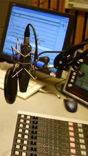 Det er her fra studio 8 i Gamlebyen at Finn Børge og Ida sender sine morgensendinger.