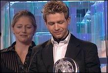 En stolt og glad Ole Einar Bjørndalen mottok prisen i klassen Konsentrasjon.