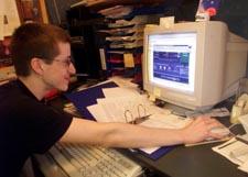 Jon Lech Johansen var tiltalt for å ha laget et dataprogram som gjør at man kan kopiere DVD-plater. Foto: Scanpix