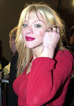Courtney Love kommer med ny plate i februar. Foto: AP Photo / Mark J. Terrill.