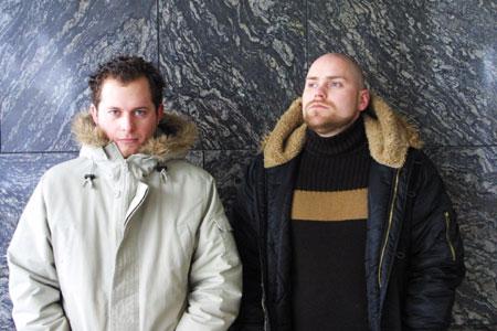 Magnus Utheim Anderssen og Shaun Bartlett har tidligere spilt sammen i bandet Yelp.