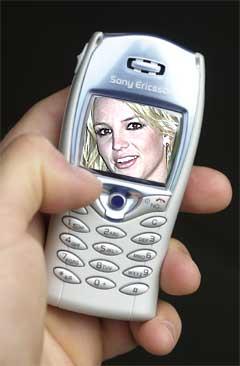 Britney Spears frykter bruk av kameramobiler. Foto: AP Photo / SCANPIX.