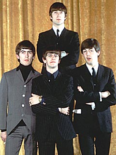 The Beatles måtte nøye seg med 2. og 3. plass. Foto: AP Photo / Scanpix.
