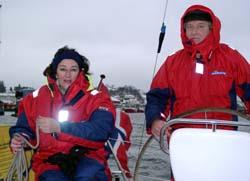 Solfrid Gjengset og Alf Haugen.