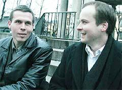 Espen Aspaas og Per Kristian Skalstad. Foto: Plateomslag.