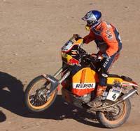 Nani Roma vant etappen og overtok sammenlagt-ledelsen (Foto: Pascal Rondeau, AP)
