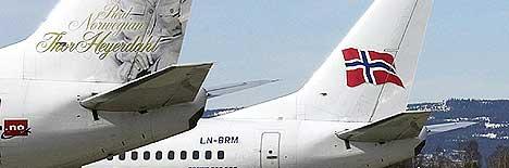 De store flyselskapene mener det er nok flyplasser på Østlandet. Foto: Scanpix.