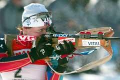 En bom på siste stående kostet Liv Grete Skjelbreid Poirée seieren. (Foto: Reuters/scanpix)