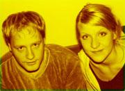 Gruer seg til å delta i Beat for Beat: Mats Jørgensen og Hedda Fredly.