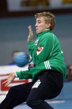 Ole Erevik storspilte mot Tsjekkia. (Foto: Morten F. Holm / SCANPIX)