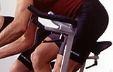 I avlastningsperioden er det viktig med alternativ trening som for eksempel sykkel.