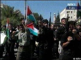 Kamphandlingene i de palestinske områdene kan ta slutt (Foto: APTN/RTS).