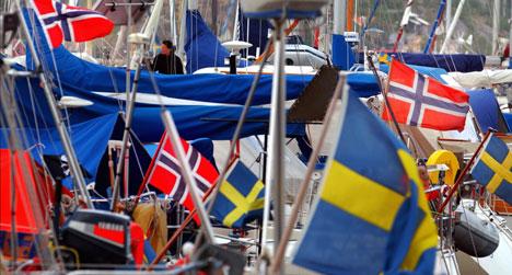 Tanum kommune i Bohuslän har allerede trekkplaster. Under sommeren i Fjällbacka finner tusenvis av nordmenn veien til den svenske kystkommunen. Nå vil Tanum ha flere nordmenn på shoppingturisme. Foto: Heiko Junge / SCANPIX