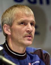 Hallvar Thoresen har ingen RBK-spillere med i troppen mot Russland. (Foto: Arash Nejad, Scanpix)