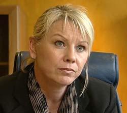 Byrådsleiar Monica Mæland. (Foto: Kjell Herning Puls NRK)