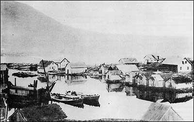 Kanal på Indre Hauge.