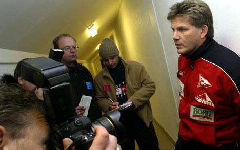 Fredrikstads trener Knut Thorbjørn Eggen. Foto: Erik Johansen / SCANPIX
