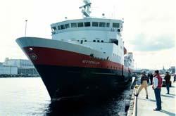 Hurtigruteselskapet OVDS eier blant annet hurtigruteselskapet MS Vesterålen. Arkivfoto: Gorm Kallestad, Scanpix.
