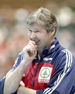 Gunnar Pettersen måtte se laget tape mot verdensrekordholderen. (Foto: Morten F. Holm / SCANPIX)