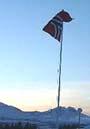 Flagget til topps i Innlandet