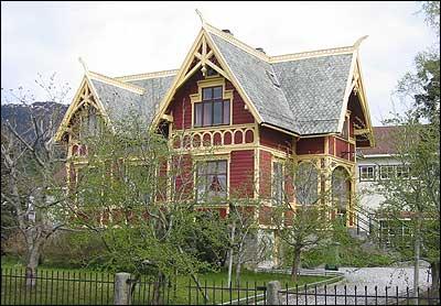 Børsemakarhuset. (Foto: Ottar Starheim, NRK © 2003)