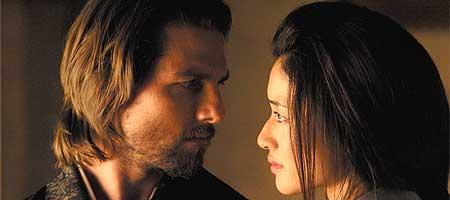 """...og en dash romantikk er innholdet i """"Den siste samurai""""."""