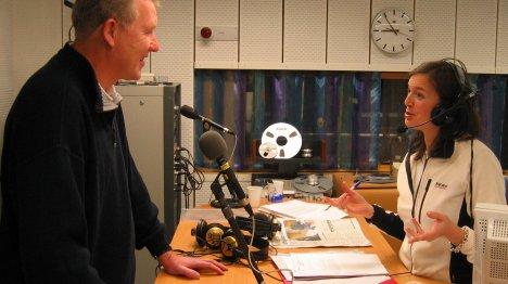 Trond Ihle-Hansen gjestet programleder Caroline Bækkelund Hauge og NRK Buskeruds morgensedning fredag morgen.