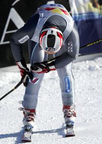 Lasse Kjus hadde smerter i kneet på treningen i går. (Foto: Scanpix)
