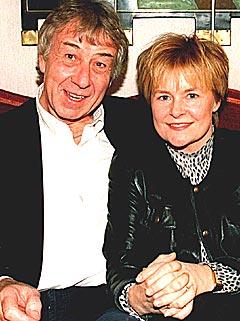 David Palmer, her fotografert sammen med Elisabeth Andreassen i 1997. NTB-foto: Anne Norseth.