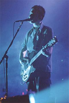 Radiohead er nominert til fem priser i MNE-awards, mens... Foto: Promo.