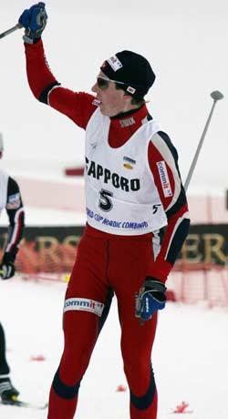 Petter Tande seiler opp som favoritt foran junior-VM. (Foto: AFP/TOSHIFUMI KITAMURA)