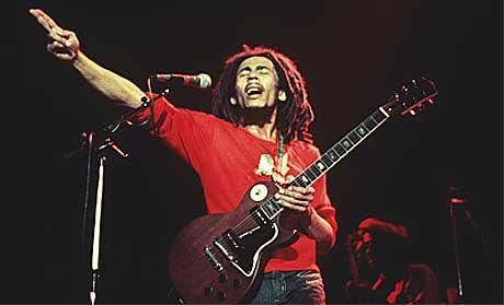 Marley er nesten for Gud å regne på Jamaica. Nå får også resten av verden høre låtene fra før gjennombruddet. Foto: www.bobmarley.com.
