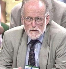David Kelly under høringen i Underhuset i juli i fjor (Foto: AP)