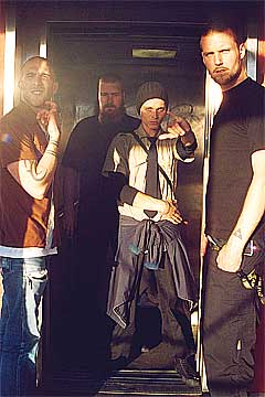De svenske garagepunkerne C. Aarmé er plateaktuelle og klare for å vise seg fram på City Sound. Foto: Promo.