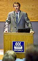 Norsk Hydros generaldirektør Eivind Reiten.