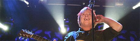 Kurt kan havne i samme management som sin gode venn, britenes Idolvinner Will Young. Foto: Knut Fjeldstad, Scanpix.