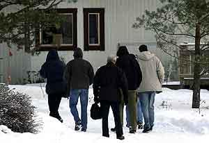 Svensk politi har siden januar etterforsket Knutby-saken. Arkivfoto: Sven-Olof Ahlgren, UNT/Scanpix.