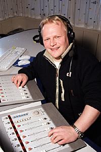 Geir Samuelsen legger vekt på å lage en radio som berører og betyr noe for befolkninga i Finnmark.