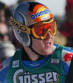Didier Cuche trives i Garmisch. (Foto: Reuters/Scanpix)