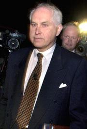 Lars Ramqvist (f. 1938) har vært styreformann i Volvo i tillegg til at han har hatt sentrale styreverv i bl.a. Ericsson og Svenska Cellulosaaktiebolaget. Han har sittet i Volvo-styret fra 1998 til 2004. Foto: Scanpix