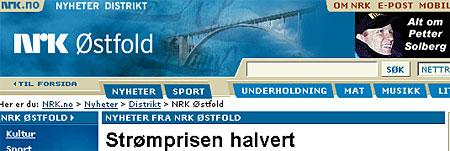 Også på nettet har NRK Østfold et omfattende tilbud.